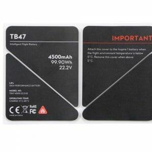 DJI Inspire 1 Insulation Stickers TB47