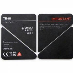 DJI – Inspire 1 Battery Insulation Stickers TB48