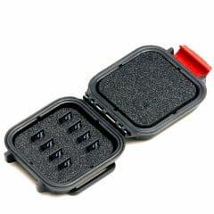 HPRC – Minnekort-eske 8stk MicroSD (rød)