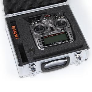 FrSky – Taranis X9D Plus m. Alu-koffert