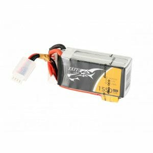 Gens Ace – Tattu 3S 1550mAh 75C Racing LiPo