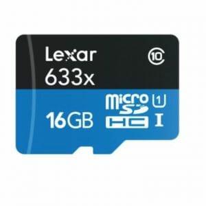 Lexar – MicroSDHC 633x 16GB