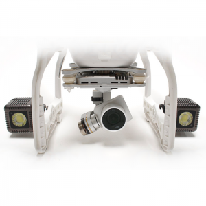 Lume Cube – Phantom 3 Mounts – Svart