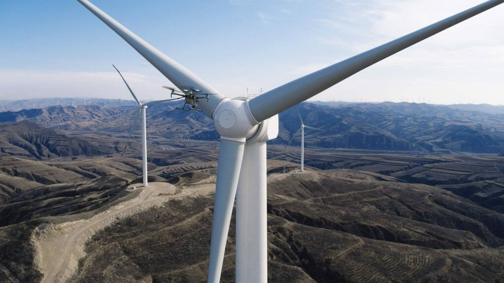 Matrice 200 Windturbine Inspection