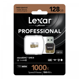 Lexar – MicroSD 1000x 128GB