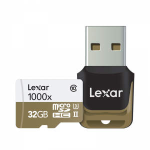 Lexar – MicroSD 1000x 32GB
