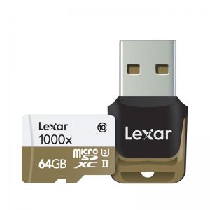 Lexar – MicroSD 1000x 64GB