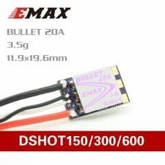 Emax – D-SHOT Bullet Series 20A (BLHELI_S)