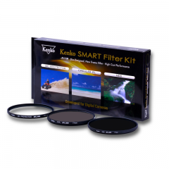 Kenko – Smart Filter Kit 46mm (Protector – ND8 – CPL)