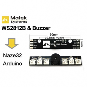 Matek Systems – RGB Led Board with Buzzer
