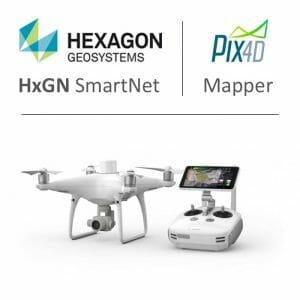 Phantom 4 RTK - HxGN Smartnet - Pix4D combo