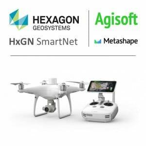 Phantom 4 RTK - HxGN Smartnet - Agisoft Metashape combo
