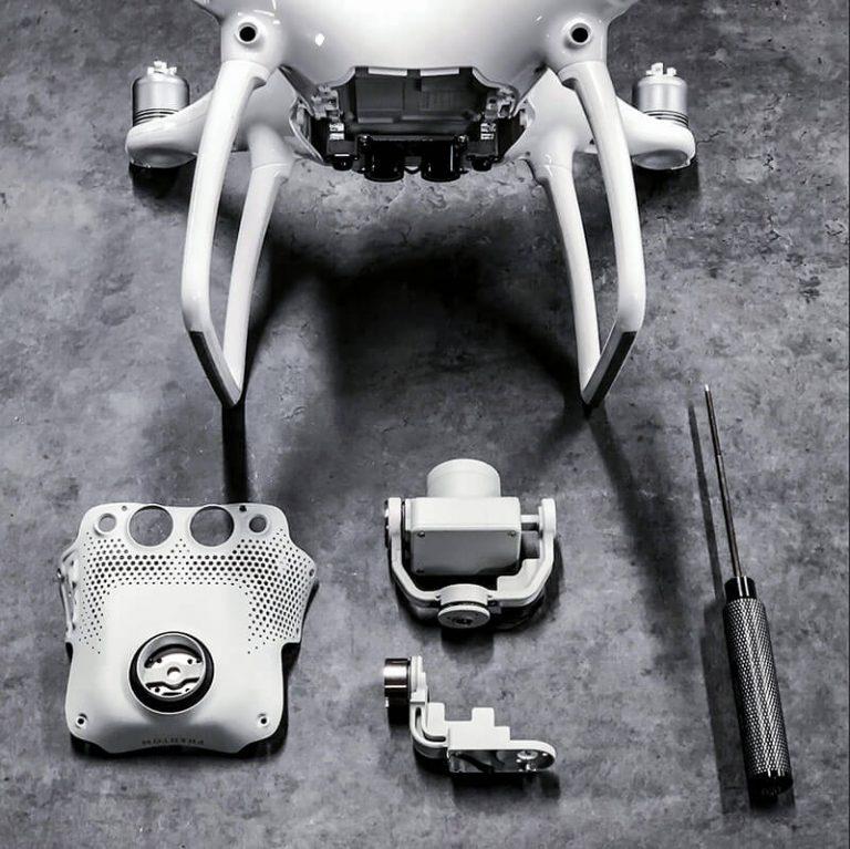 Reparasjon av droner